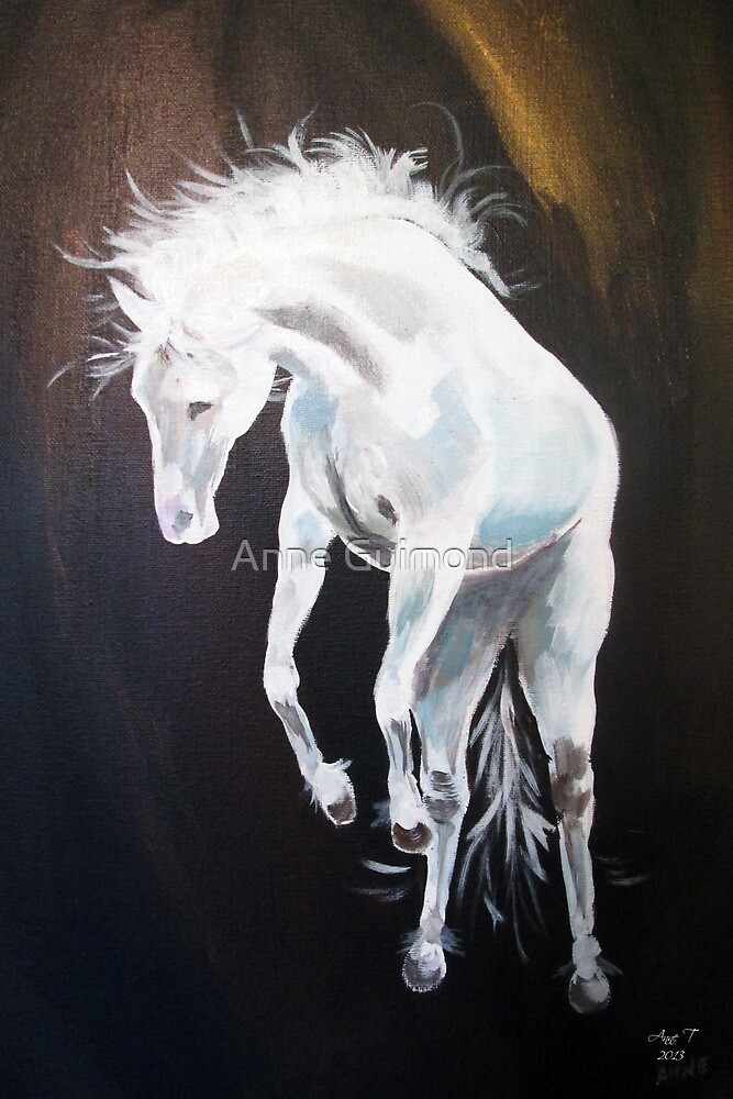 Ghost Rider getting wild by Anne Guimond