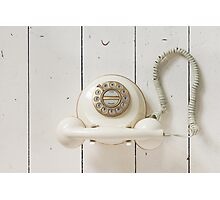 Vintage Telephone Photographic Print