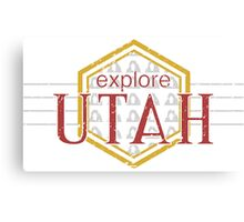 Explore Utah Canvas Print