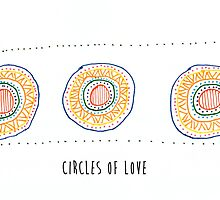 circles of love by indieink