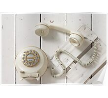 Vintage Rotary Dial Telephone Poster