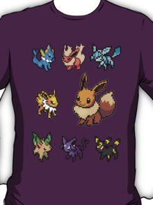 eeveelution sticker pack !!! T-Shirt