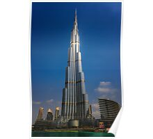 The Burj Khalifa Poster