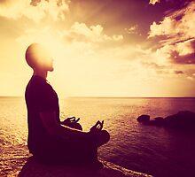Tropical Sunset Meditation  by visualspectrum