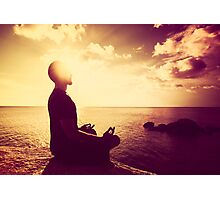 Tropical Sunset Meditation  Photographic Print