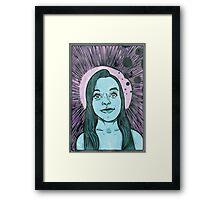 Hollylujah Framed Print