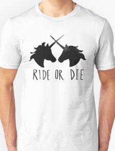 Ride or Die x Unicorn T-Shirt