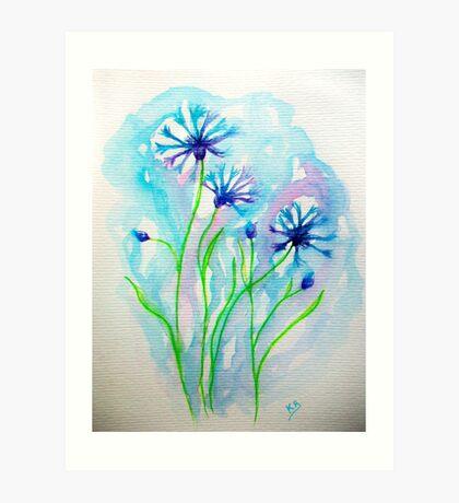 Blue notes... :)  Art Print