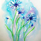 Some Cornflowers... :)  by karina73020