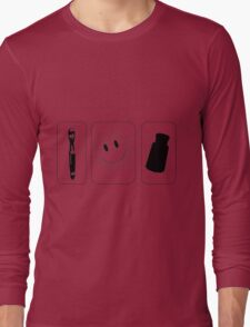 Superwholock icons Long Sleeve T-Shirt