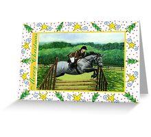 Connemara Pony Blank Christmas Card Greeting Card