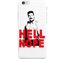 Hell Nope iPhone Case/Skin
