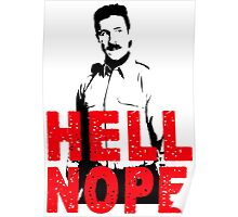 Hell Nope Poster