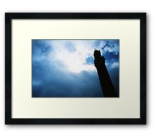 Tower of the Eater Framed Print