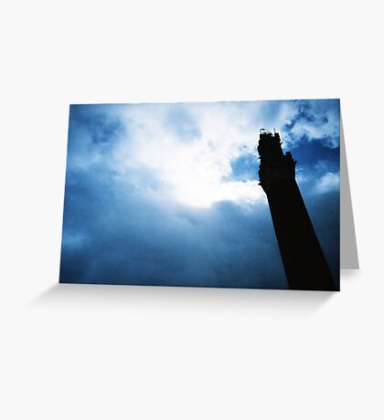Tower of the Eater Greeting Card
