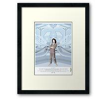 Alien (1979) Movie Poster - feat. Ripley Framed Print