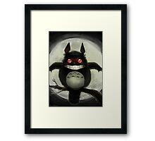 Waru Totoro Framed Print