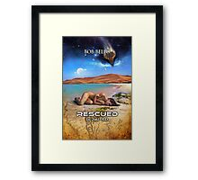 Rescued in 2061 AD Framed Print