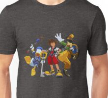 Kingdom Hearts - the Gang Unisex T-Shirt