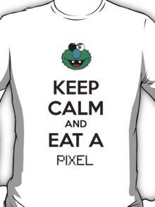 Keep Calm And Eat A Pixel T-Shirt