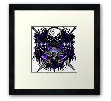 Cool Skulls Framed Print