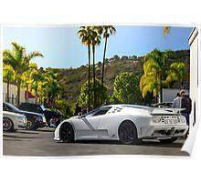 Bugatti EB110 Super Sport Poster