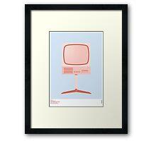 Braun FS 80 Television Set - Dieter Rams Framed Print
