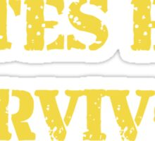 Bates Era Survivor  Sticker