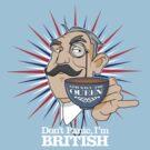 Don't Panic, Im British by Rob Stephens