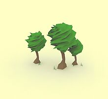 Low Poly Trees by error23