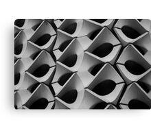 Concrete Facade - Chemnitz Canvas Print