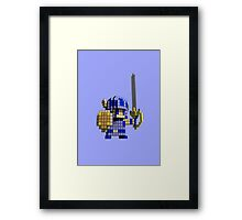 3D Dot Game Heroes Framed Print
