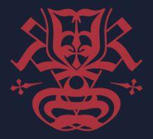 Typo Samurai - Red Kids Clothes