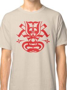 Typo Samurai - Red Classic T-Shirt
