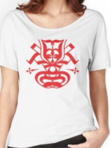 Typo Samurai - Red Women's Relaxed Fit T-Shirt