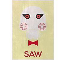 Minimal Saw Movie Poster  Photographic Print
