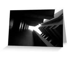 Cluster Block - Denys Lasdun Greeting Card