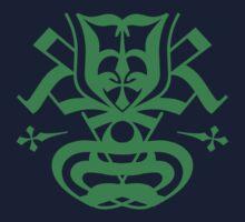 Typo Samurai - Green Kids Tee