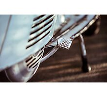 Vintage Lambretta Motorbike Photographic Print