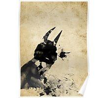 Paint Splatter Superheros: Batman Poster
