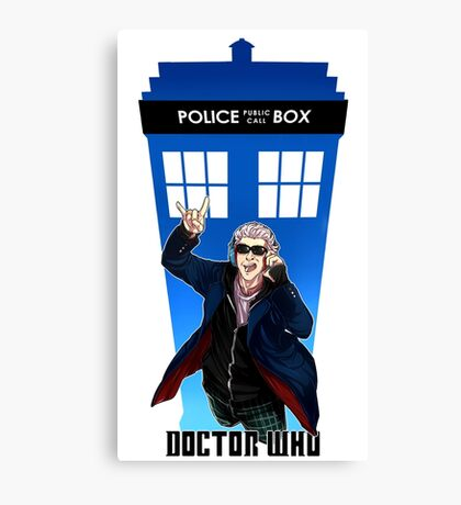 New Doctor Who Canvas Print