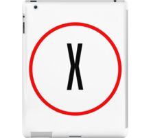X Files X iPad Case/Skin