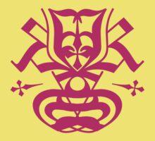 Typo Samurai - Magenta Kids Clothes