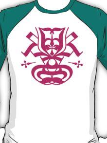 Typo Samurai - Magenta T-Shirt
