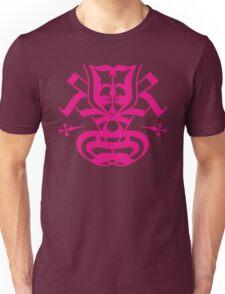 Typo Samurai - Magenta Unisex T-Shirt