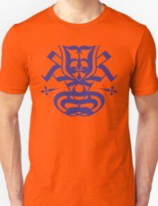 Typo Samurai - Navy Unisex T-Shirt