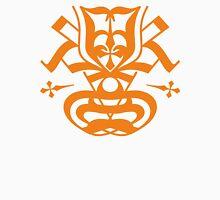 Typo Samurai - Orange Unisex T-Shirt