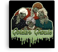 Golden Ghouls Canvas Print