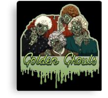 Golden Ghouls Canvas Print