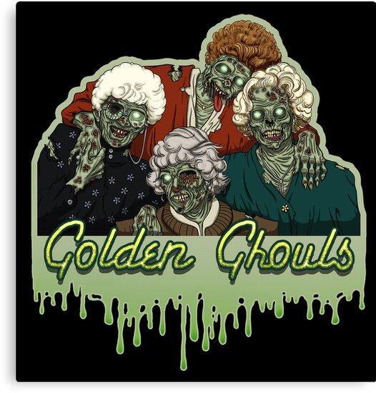 Golden Ghouls by evolvingeye